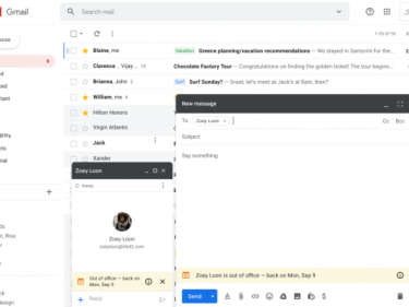 Gmail can now tell your coworkers you're on vacation BEFORE they email you