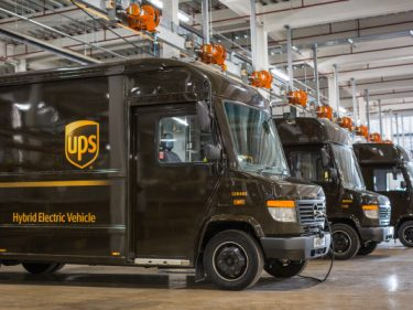 UPS introduces hybrid, long-range trucks that change modes based on where they are