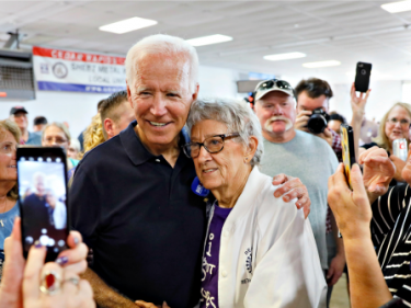 Joe Biden Downplays Potential Iowa Caucus Loss Five Months Early