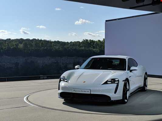 Here's every angle of the Porsche Taycan Turbo S in pictures