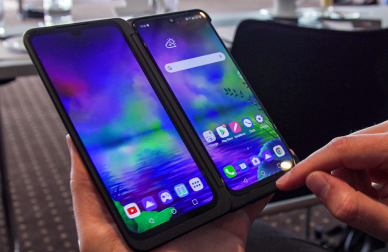 LG's G8X ThinQ Dual-Screen is a multi-screen compromise