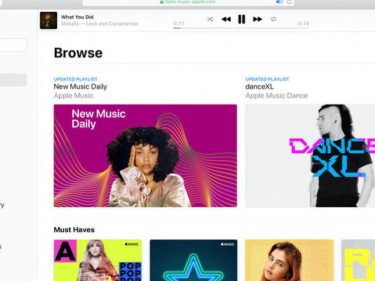 Apple Music comes to browsers today with a beta web player