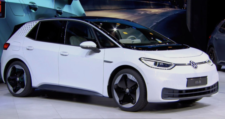 Volkswagen reveals its mass-market ID.3, an electric car with up to 341 miles of range