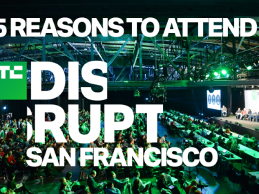 5 reasons to attend Disrupt SF this October 2-4