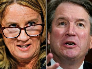 Report: Christine Blasey Ford's Dad Supported Kavanaugh's Confirmation