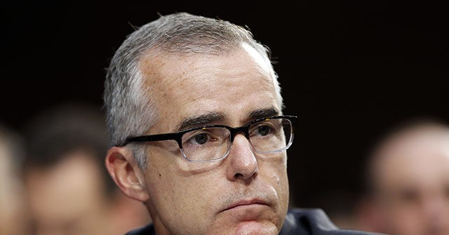 Report: U.S. Attorney Urges Charges Against Andrew McCabe