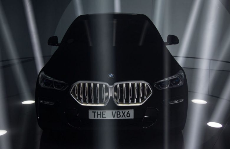Even BMW's 'Vantablack' X6 gets caught by LiDAR
