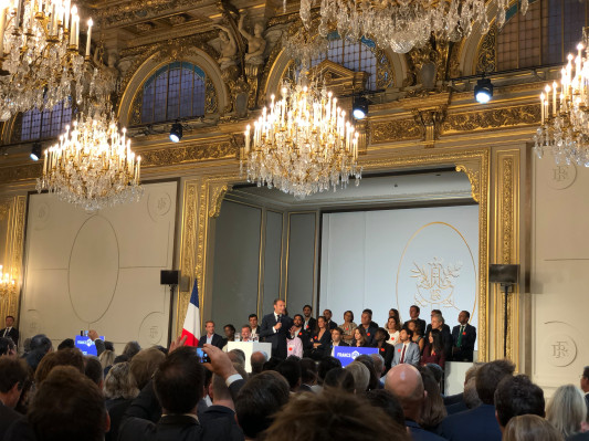 Macron announces €5 billion late-stage investment pledge  from institutional investors
