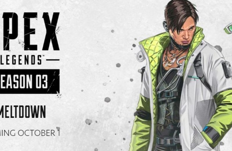 'Apex Legends' Season 3 launches with a new hero on October 1st