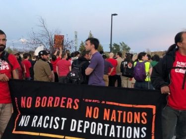 Watch–Colorado Communists Protest Outside ICE Warden's Home: 'No Borders, No Nations!'