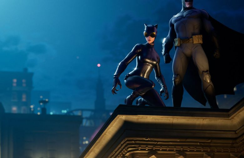 Batman comes to 'Fortnite' along with Catwoman and Gotham City