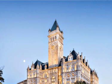 Leftists Target Trump's Liquor License at DC Hotel over His 'Character'