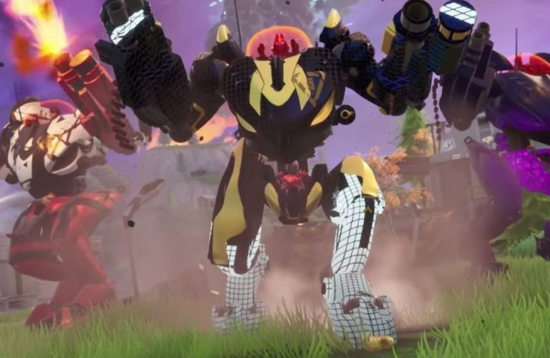 Fortnite's despised mechs are exploding when they hit the ground