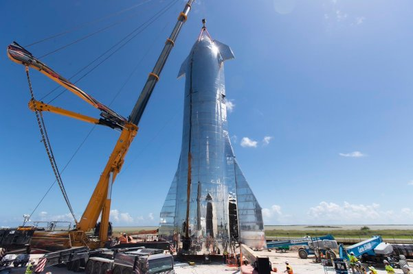 SpaceX's orbital Starship prototype comes together ahead of update event