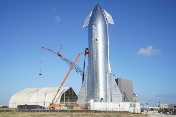 Gallery: SpaceX's Starship Mk1 spacecraft prototype in pictures