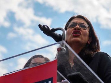 Rashida Tlaib Defends 'Impeach the MF' Shirts: They Bring 'Levity' and Liberation to My Supporters