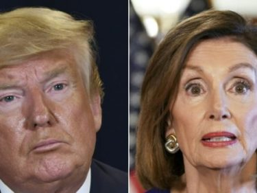 'Sue Her?' —  Trump Floats Legal Action Against Pelosi for Claiming Schiff Didn't Fake Ukraine  Dialogue