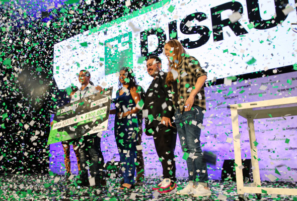 And the winner of Startup Battlefield at Disrupt SF 2019 is… Render