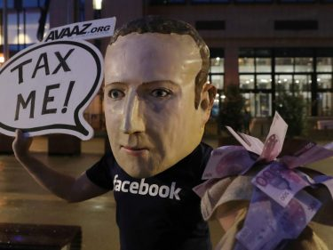 Zuckerberg Practically Begs Bernie to Smack Him With $5 Billion Tax