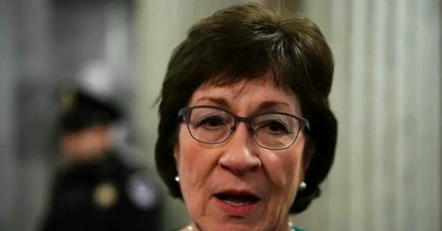 Susan Collins Joins Romney in Condemning Trump for Urging Biden Probe