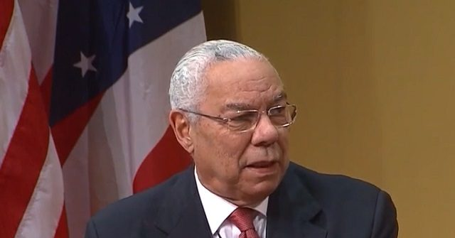 Colin Powell: 'Foreign Policy Is in Shambles' Under Trump | Breitbart