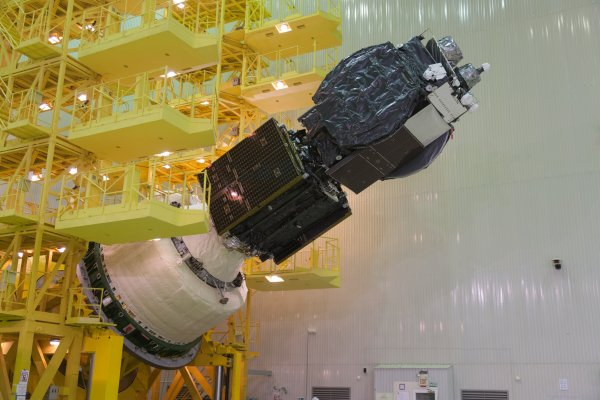 The first spacecraft that can service satellites to extend their life launched today