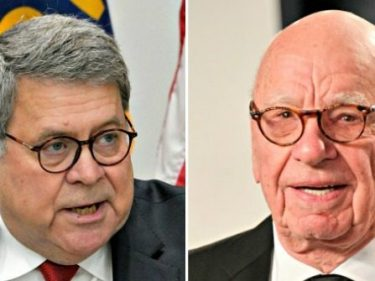 Report: Barr, Murdoch Meet Privately as Trump Sours on Fox News