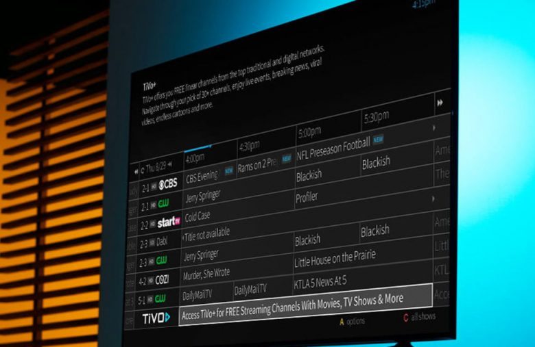 TiVo's 'free' streaming service starts rolling out