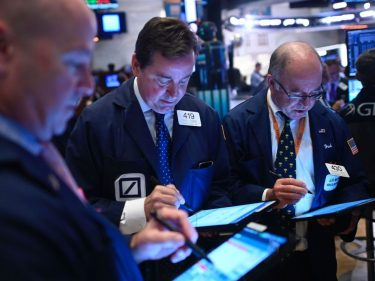 Dow Futures Edge Nervously Amid Fears of First Recession Since 2009