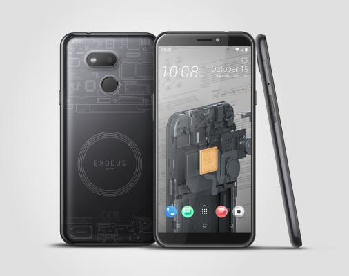 HTC releases a cheaper blockchain phone