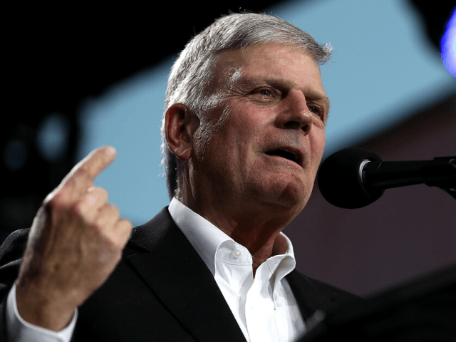 Rev. Franklin Graham Condemns San Francisco Ban on Travel to Pro-Life States