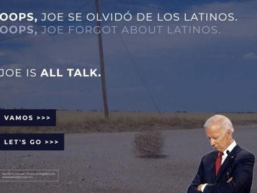 Trump Exploits Embarrassing Biden Gaffe to Weaponize Latinx Politicking