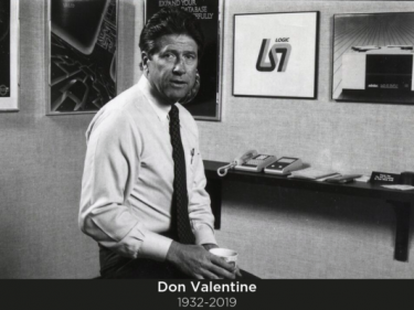 Don Valentine, who founded Sequoia Capital, has died at age 87