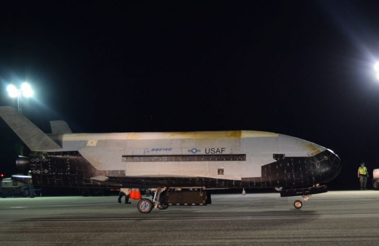 Air Force's X-37B space plane lands after record 780 days in orbit