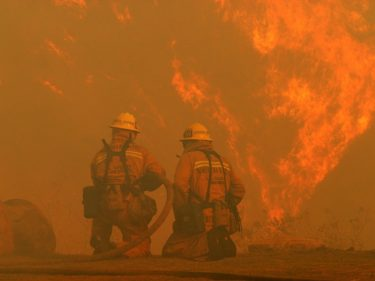 California Wildfires Scorch PG&E Stock by 50% in Just 7 Days