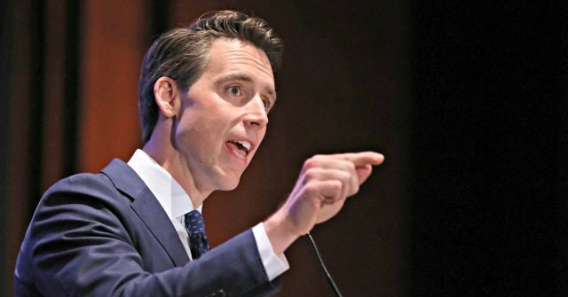 Josh Hawley: GOP Must Defend Middle Class Against 'Corporate Power'