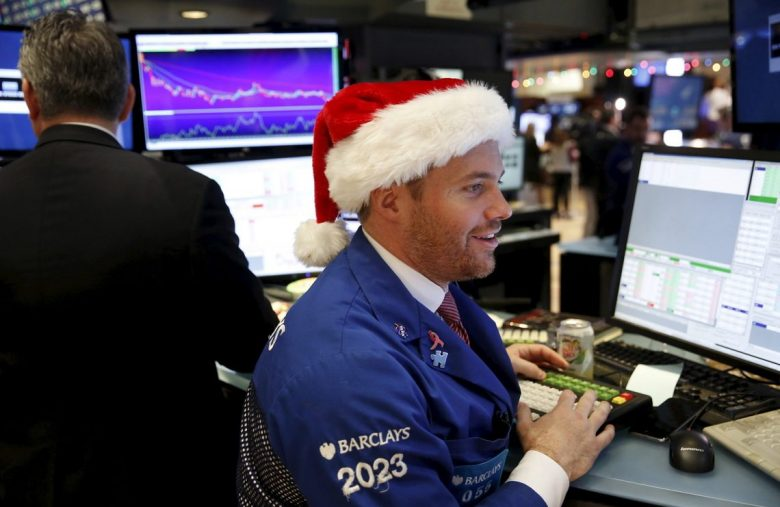 Dow Futures Jump 100 Points With More Fireworks Until Christmas