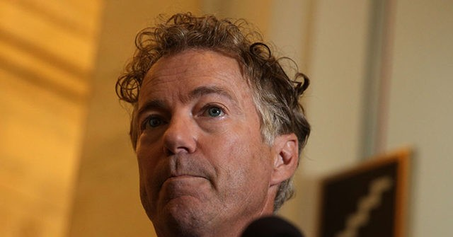 Rand Paul Says He 'Probably Will' Disclose Whistleblower's Name