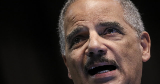 Reports: Eric Holder Considers Jumping into 2020 Presidential Primary