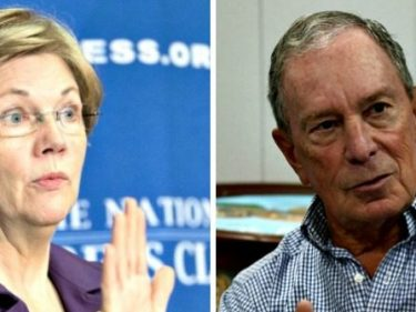 Shots Fired: Warren Takes Aim at Bloomberg's Billionaire Status