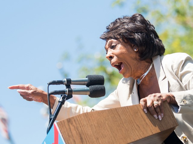 Waters Praises Schiff, Tells Trump to 'Pack Up His Tanning Bed & Leave'