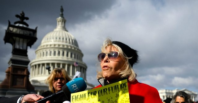 Video: Jane Fonda Protests Climate Change at White House, Demands Trump Impeachment