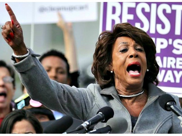 Mad Maxine Waters: Trump Trying to Expose 'Patriotic Whistleblower'