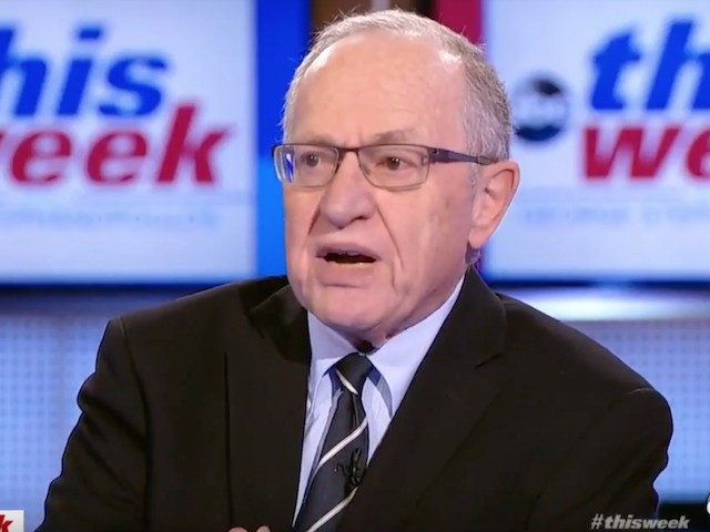 Dershowitz Likens Dem Impeachment Obsession to Stalin's KGB — 'Show Me the Man, and I'll Find You the Crime' | Breitbart