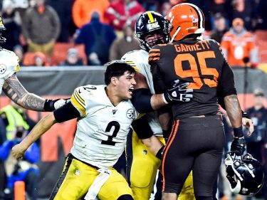 Mason Rudolph Needs to Tell His Reps to Let This Go