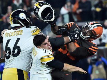 Myles Garrett & Mason Rudolph Killed Their Teams' Slim Playoff Hopes