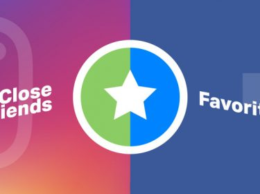 Facebook prototypes Favorites for close friends microsharing
