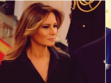 Fashion Notes: Melania Trump Is Regal in Tux Jumpsuit by Hervé Pierre