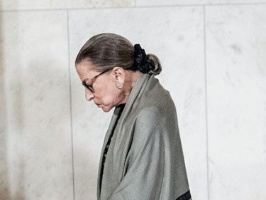 Ruth Bader Ginsburg Hospitalized After Having Chills and Fever
