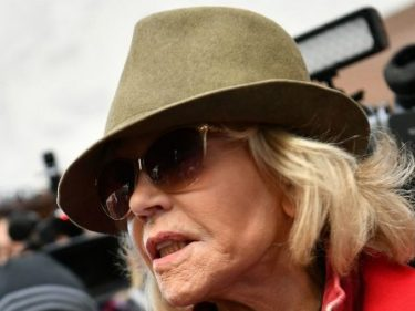 Jane Fonda Leads Black Friday Climate Change Protest, Targets Farmers and Cattle Ranchers